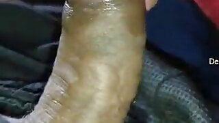 New cute Tamil girlfriend sucking cock