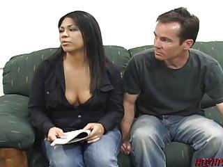 Making money fucking my husband Housewife fucks dude for money as husband watches