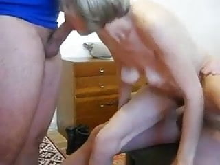 Military men gay porno - Horny granny pleasing two men