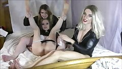 One of the best shemale threesomes on the planet