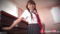 JAPAN HD Japanese Teen likes warm Creampie