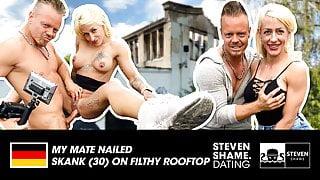 Outdoor fuck with tattooed slut Harleen! Stevenshame.dating