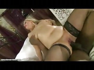 Curvy blondes ride cock - Curvy british wife rides big black cock while hubby films