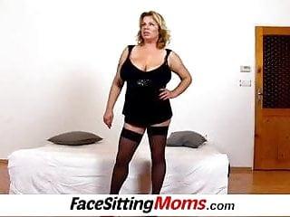 Facesitting fetish forums Huge boobs milf silvy vee facesitting fetish