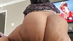 Solo ebony nude big ass shaking