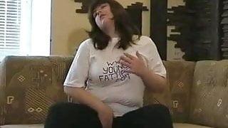 fat girl stripping