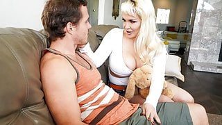 MommyBlowsBest - Big Titty MILF Shows Off To Her Stepson