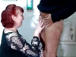 Redhead mature housewife - German housewife and the plumber hardcore sex