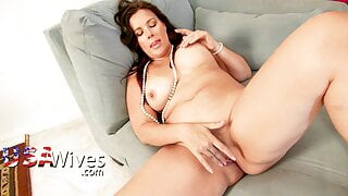USAWIVES - Horny Mature Compilation Video With Chicks