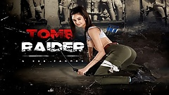 Busty Eliza Ibarra As LARA CROFT Is Yours In TOMB RAIDER XXX