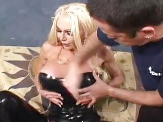 Extreme silicon tits Silicone mature slut in action