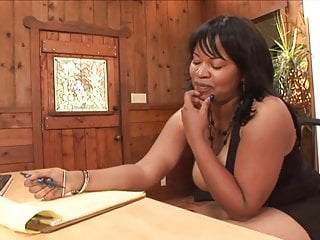 White into black milf - Black milf get pounded with white cock