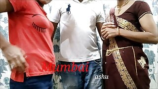 Indian threesome video, Mumbai Ashu sex video, anal sex