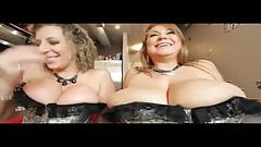 Sara Jay & Samantha 38 G in orgy with two big black cocks
