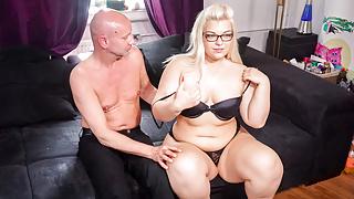 LETSDOEIT - Chubby German Teen Gets Filmed Fucking Her BF