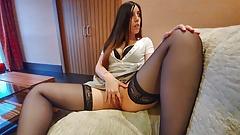 Masturbation in the waiting room