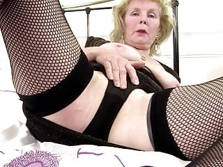 Piercing of the vagina Kinky granny with old pierced thirsty vagina