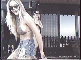 Swimmer boob slips - Charlotte mckinney - boob slip