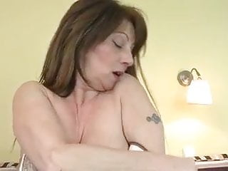 Womens wet fucked holes - Busty mature fucks her holes to a wet orgasm
