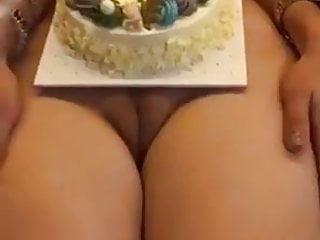 Naked birthday cake Best birthday cake ever..
