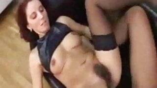 Sweet mom in stockings with hairy cunt - sibel18 com