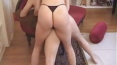 Dry Humping lesbians - Unknown source