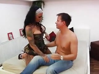 Tatto vagina - Hot tattoed german girl gets fucked by a fan