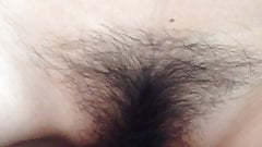 Fucking a Chinese Spread Hairy Pussy