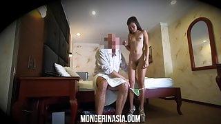 Hidden Cam Spies On Sexy Petite Asian Hooker