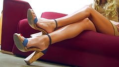 Princess Beverly - Unfair Foot Teasing