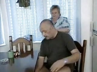 Jerking mature off Man gets caught jerking off by bbw granny