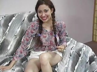 Teen latino virgin in pigtails Midnite isis handjob in pigtails