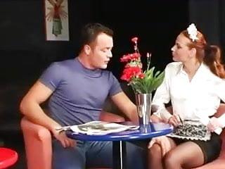 Sex blouse - Satin blouse foursome