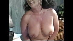 Hot Granny Ginni Shows off and gets Pounded Doggystyle