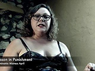 German mistress hardcore Dominatrix mistress april - a lesson in punishment