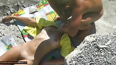 HOT NUDE BEACH BABES TANNING IN THE SUN