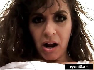 Fucking a big tittied milf Old milf big tittied fucking hard with a young man