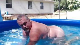 Naked Pool Step Dad
