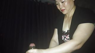 Chinese Indian desi cock massage with cum - Part 1