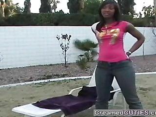 White guy black girl orgy Black girl sucks off white guy