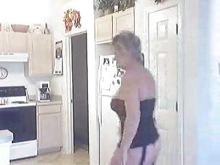 Mature nude lingerie Nude for repairman