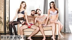 BiPhoria - 2 Bisexual Couples Have Wild Foursome