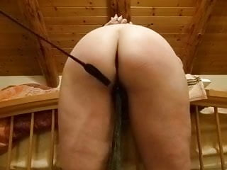 The spanking of a perfect ass Wifes perfect ass receives some punishment