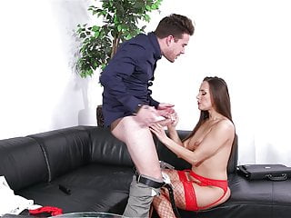 Dick lukes woodturning Luke hotrod fucks mea melone on the couch