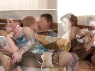 Boys eating matures - Boy fuck three mature pussies