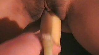 Orgasme par une banane