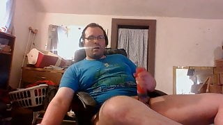 Just alone with my thoughts and cock