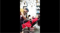 young and desi aunty hot sex in shop