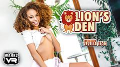 Cecilia Lion - WankzVR - Lion's Den