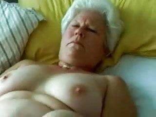Grannt tgp Amateur white hair grannt